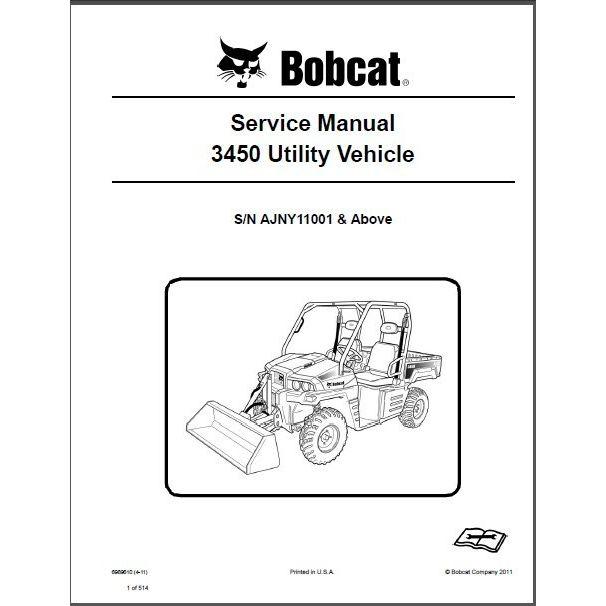 Bobcat m610 service manual free download